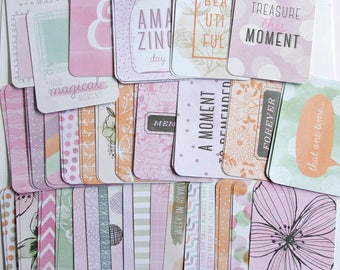 Partial Charming Core Kit 150+ Cards Becky Higgins Project Life 4x6 3x4 Journal Cards Title Cards Filler Card BH PL Pocket Scrapbooking #120