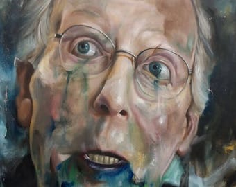 Resistance Digital Print of Mitch McConnell Oil Painting