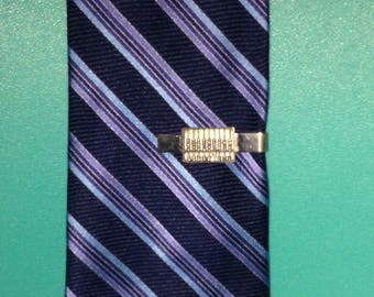 Mathematics Abacus Tie Clip Sterling Silver *FREE SHIPPING*