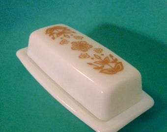 Funky 70s Butter Dish