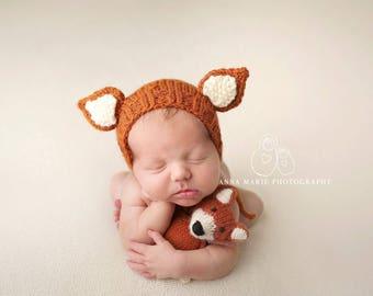 The Littlest Fox - Made To Order, Newborn Size