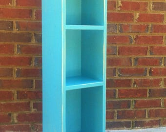 Shabby Bookcase Storage for office Office or Kids room 35'' x 10'' x 7 1/2''