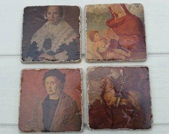 The Great Masterpieces Coaster Set of 4 Tea Coffee Beer Coasters