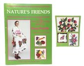 Vintage Transfer Book, Iron On Transfers, Patterns for Easy Punch Embroidery Machine, Embroidery Transfer Patterns, Nature's Friends,