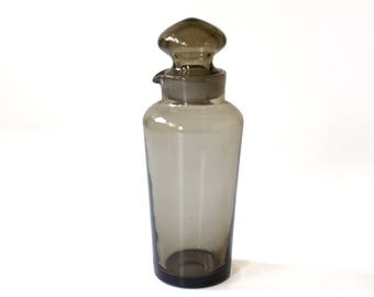 Mid-Century Modern Smoky Decanter Holmegaard