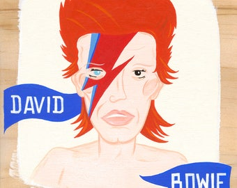 David Bowie - Painting