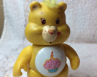 15% OFF 1980s Care Bear Posable Figure Hong Kong PVC Birthday Bear