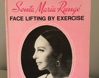 Summer Sale Face Lifting Excercise book by Maria Runge