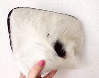 Cowhide Leather Make-Up Bag/Pouch