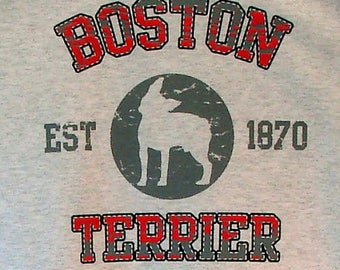 Womens TANK TOP Boston Terrier Dog Choose Size and Color 17394
