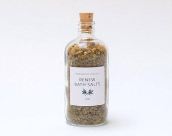 Renew Bath Salts - Dead Sea Salt + Matcha Powder