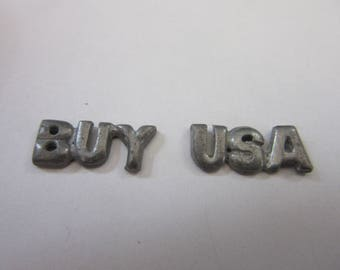 "aluminum ""BUY USA"" , A 1511,  3 SET S,   Perfect for glueing????"
