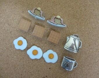 Breakfast Push Pins