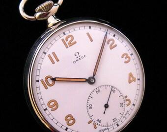 Omega Pocket Watch - Unusual Dial - c.1926