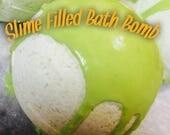 Slime Bath Bombs, Bath Bombs for kids, Bath Bombs with Surprise inside, Large Bath Bombs, Slime filled bath bomb, Slime