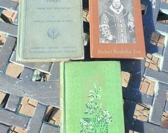 England HISTORY. Vintage Books. Henry VIII. Herbert Beerbohm Tree. Sir Roger De Coverley. Spectator. RUSKIN. Queen of the Air. 1890s 1900s