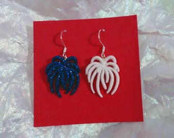 July 4th 4th of July fireworks firecracker  Independence Day earrings holiday earrings brockus creations