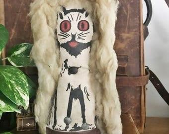 Vintage Carnival Lion Game Piece