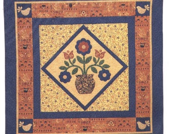 REDWARE POTTERY Quilt Pattern - Uncut - Q099
