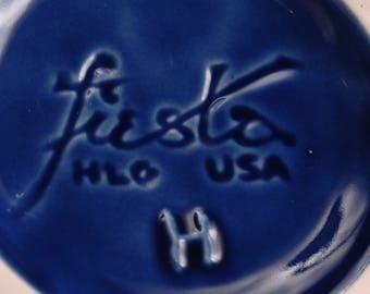 Fiesta Cobalt Blue Bud Vase