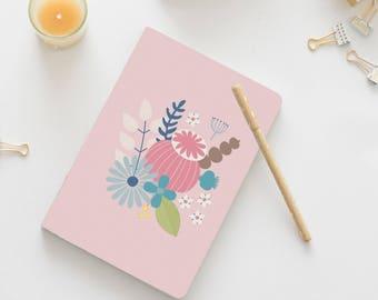 A5 Notebook, Pocket Notebook, Sketchbook, Stationery Gift, Blank Notebook