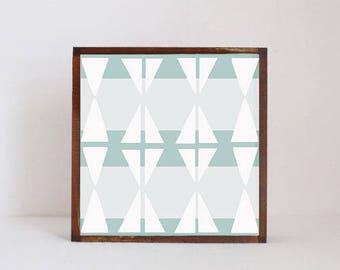 boho moroccan nursery art, geometric nursery print, 5x5 art block, nursery wall art, safari nursery art, gender neutral baby, redtilestudio