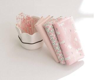 Fat Quarters Floral Cotton Bundle (3 Pieces) 87524