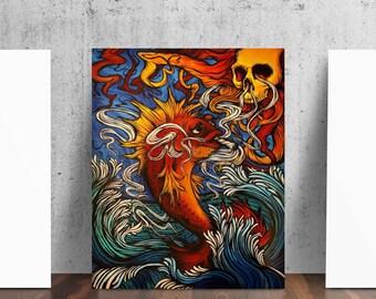Badfish Surf Sublime Fish Art Print