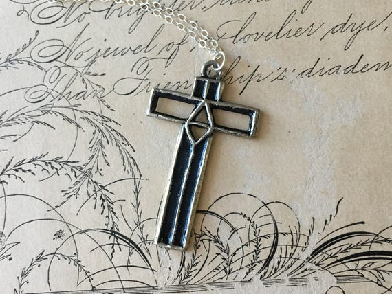 Cross Pendant Necklace | Cross Jewelry | Meaningful Gifts