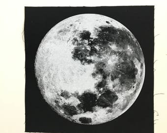 Full Moon + Back Patch    (((KFG Apparel)))