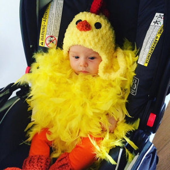 baby chicken costume chicken hat baby chicken hat booties and feathered romper soft chicken baby costume hat by