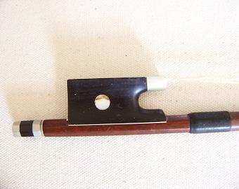 Made In Germany Pernambuco Wood Violin Bow - Vintage Violin Bow -  Pernambuco Bow