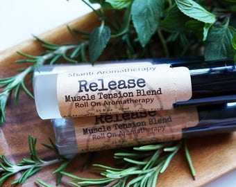 Release Aromatherapy Roll On Cooling Headache Relief - Muscle Support