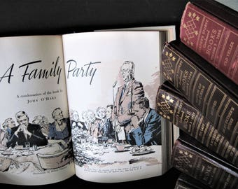 Readers Digest Books, First Edition Books, Brown Book Set, Photo Prop, Wedding Decor, Instant Library, Home Decor, Office Decor, Brown Books