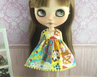 Blythe Dress - Patchwork Kawaii