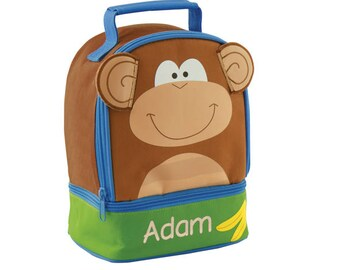 Personalized 3D Monkey Lunch Pal by Stephen Joseph