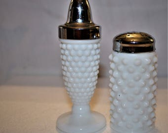 Hobnail Salt and Pepper Shakers, Fenton and Westmoreland