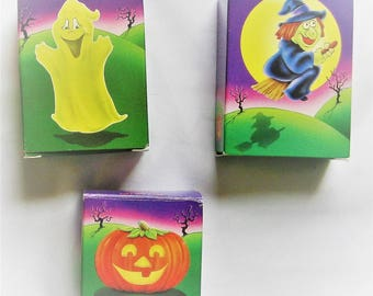 Goofy Goblins Crayon Soap Set of 3 Ghost, Witch, Pumpkin
