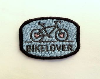 Bike Lover Embroidered Patch