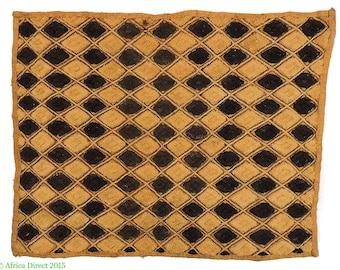 Kuba Textile Raffia Square Congo African Art 102151