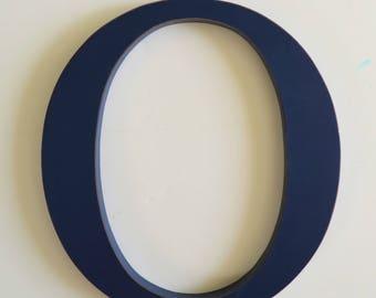 Wooden Letter O - 24 inch Letter - Large Wooden Letter