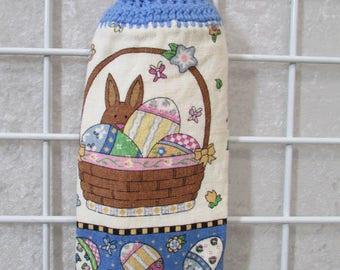 Button-On Easter Basket Towel