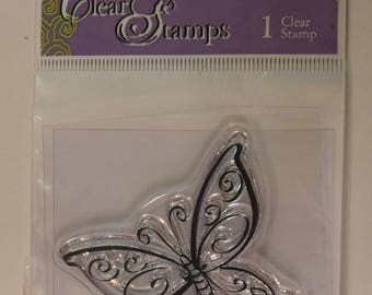 DMD Mini Clear Stamp Butterfly