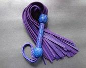 Large Purple Bullhide Flogger