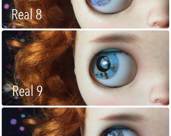 Realistic Eyechips for Neo Blythe doll Real 8-14