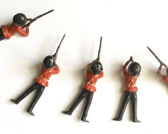 Vintage British Guards soldiers.