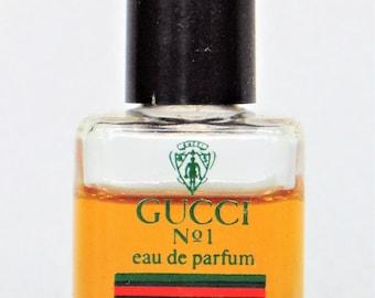 Gucci No 1 Eau De Parfum .25 oz 65% Full