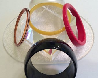 SPECIAL Vintage Bangle Bracelet Collection OF 5