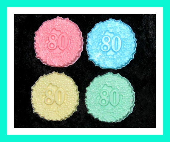 80th Birthday Favors,80th Anniversary Favors, Birthday Party Favors,Bulk Party Favors,Her Birthday Favors,His Birthday Favors,Set of 24
