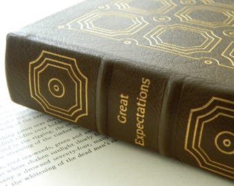 Great Expectations by Charles Dickens. Easton Press. Leather bound.